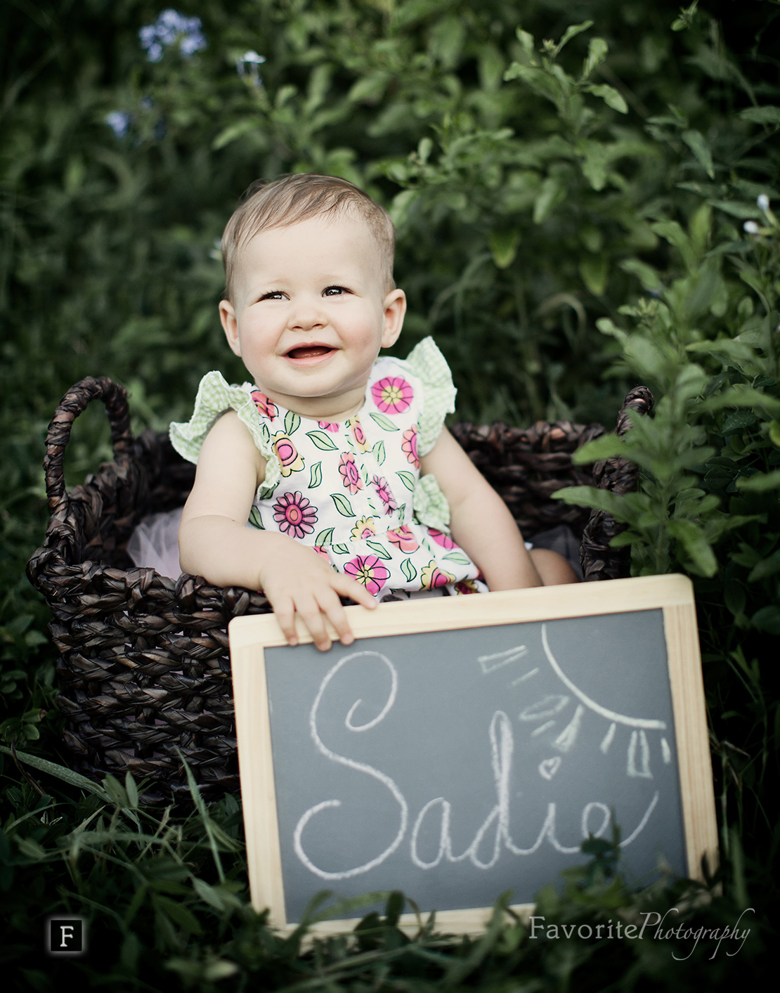 1 year Baby Girl Portrait Photography