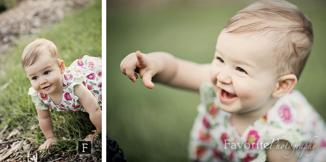 1st year Baby Girl Portrait Photography