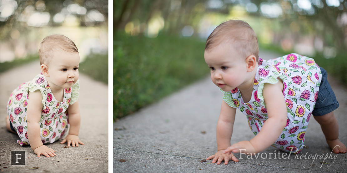 First year Baby Girl Portrait Photography