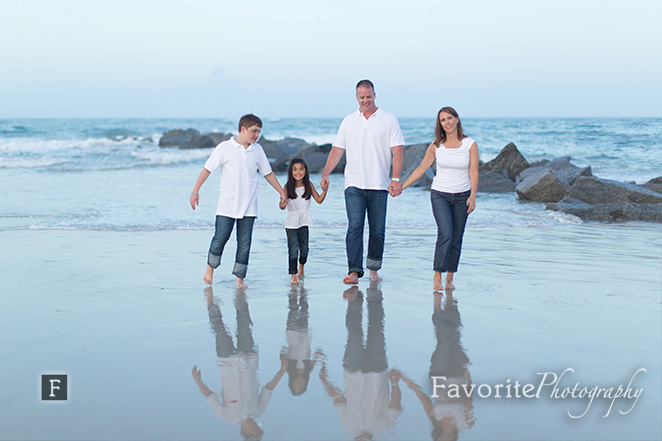 Vilano Beach Family Photography