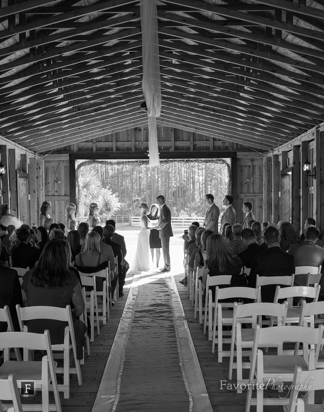 Keeler Property Wedding Ceremony Photo