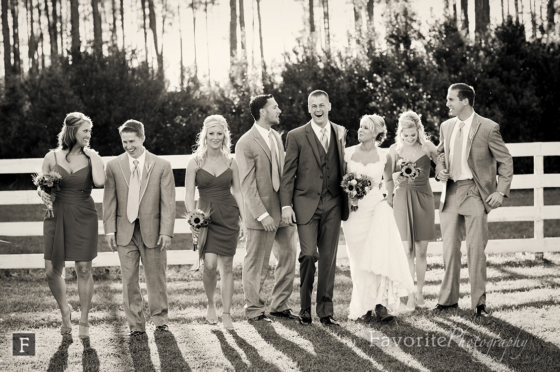 Keeler Property Wedding Bridal Party Photo