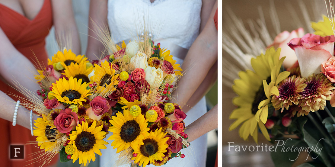 Fall Wedding Bouquets Photo