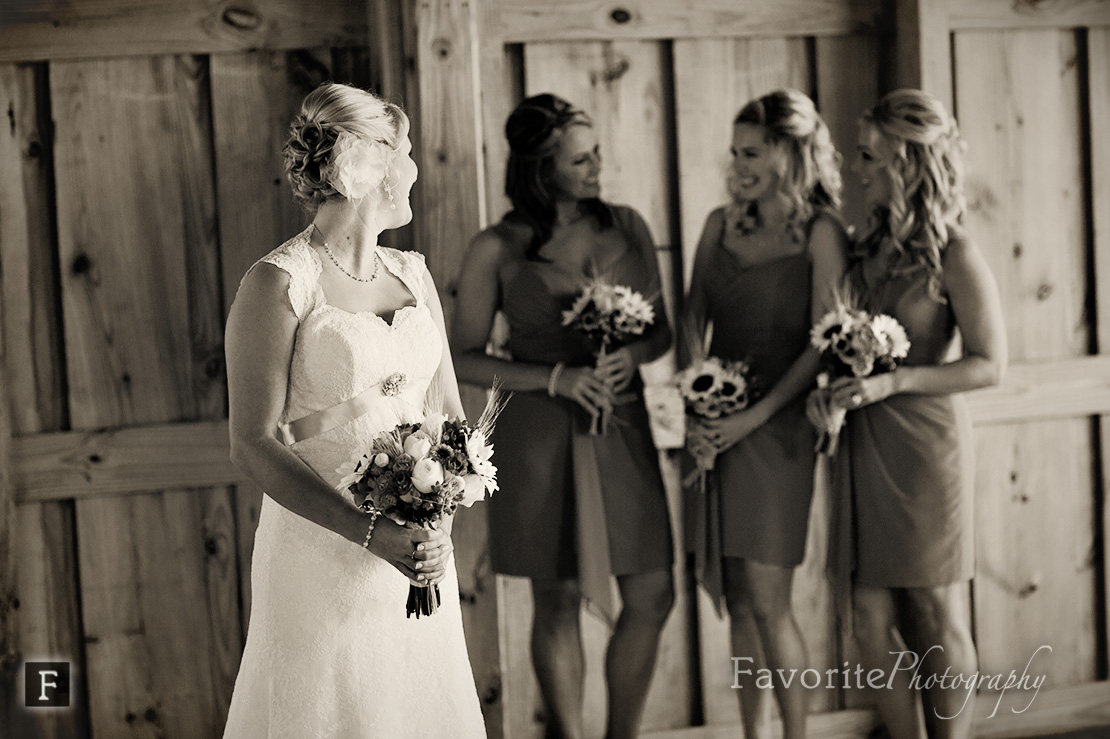 Keeler Property Bride Bridesmaids Photo