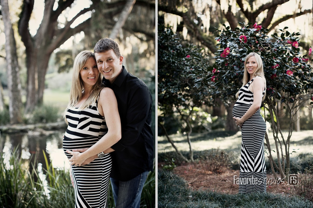 © Favorite Photography Couples Maternity Shoot Palm Coast Florida